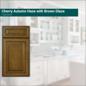 Hanover Cherry Autumn Haze with Brown Glaze