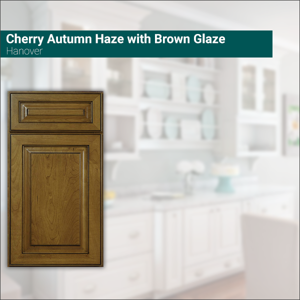 Hanover Cherry Autumn Haze with Brown Glaze