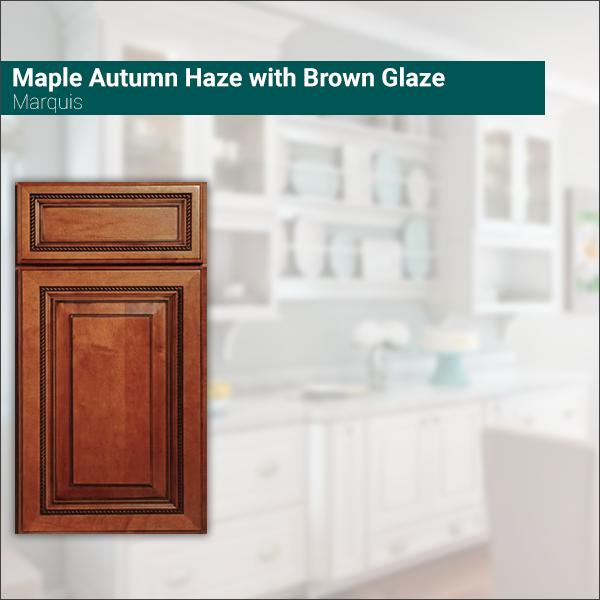 Marquis Maple Autumn Haze with Brown Glaze