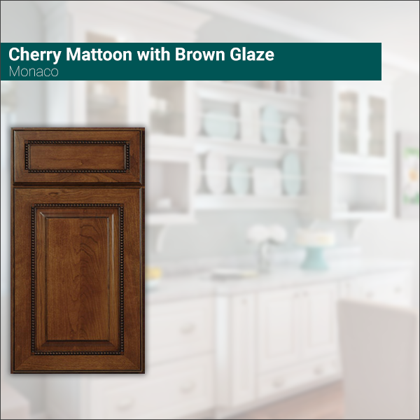 Monaco Cherry Mattoon with Brown Glaze