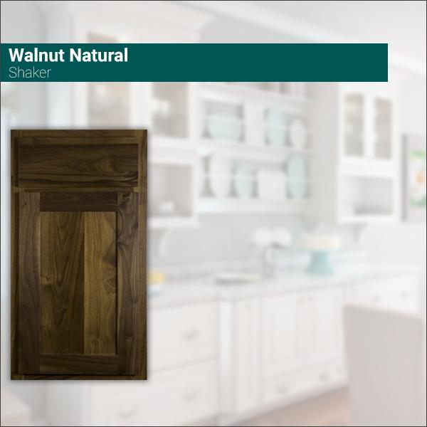 Shaker Walnut Natural
